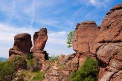 Belogradchik's rocks. Nice rocks in Belogradchik (Bulgaria Stock Photos