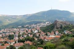 Belogradchik stad som är akademiker Fotografering för Bildbyråer