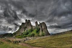 belogradchishki保加利亚skali 免版税库存照片
