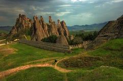 Belogradchishki-skali, Bulgarien 2 Stockfotos