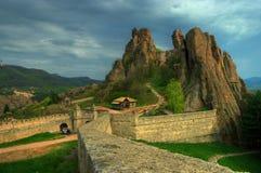 Belogradchishki-skali, Bulgarien Lizenzfreies Stockfoto
