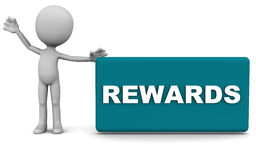 Belohnungen Lizenzfreie Stockfotos