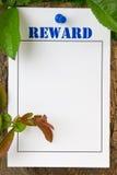 Belohnungs-Begriff lizenzfreies stockbild