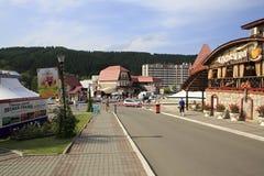 Belokurikha - the most famous Siberian health Stock Image