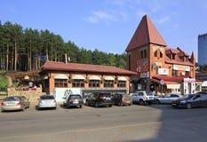 Belokurikha resort - the most famous Siberian Stock Images