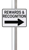 Beloningen en Erkenning Royalty-vrije Stock Foto