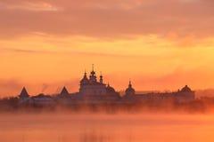 Belopesotsky monastery Stock Images