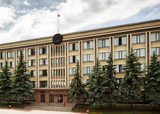 Belorussia government building Stock Photography