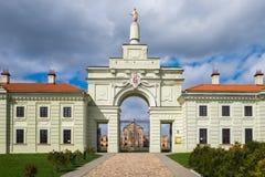 Belorussian Attraction - Ruzhany Palace in Brest region, B Royalty Free Stock Image