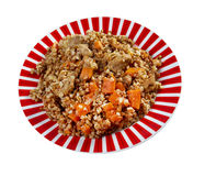 Belorussian Buckwheat porridge Royalty Free Stock Image