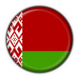 Belorussian button flag round shape Stock Photo