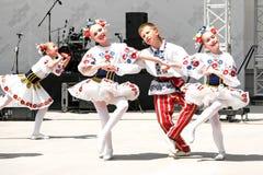 Belorussian children Royalty Free Stock Photo
