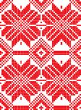 Belorussian ethnic ornament, seamless pattern. Vector illustration Stock Image