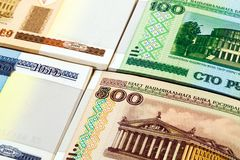 Belorussian money Royalty Free Stock Images