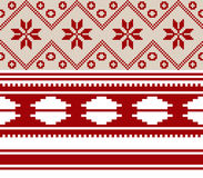 Belorussian national ornament two Royalty Free Stock Photography