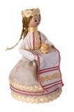 Belorussian souvenir Mistress. Belorussian, retro-styled doll souvenir Stock Photography