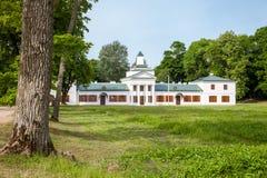 Belorussian tourist attraction - Oginski  palace Royalty Free Stock Photo