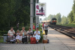 Belorussische Frauen Stockfotografie