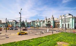 Belorussky railway. Moscow Stock Photography