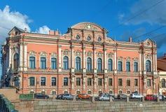Beloselsky-Belozersky宫殿,圣彼得堡,俄罗斯 免版税库存照片
