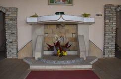 Beloslav, Bułgaria, 09 09 2017, Szklany muzeum W 1893 pierwszy szklana fabryka w Bułgaria otwierał w miasteczku Beloslav, i Obraz Royalty Free