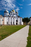 Belosteny church Saint Sophia cathedral in Kremlin, Great Novgorod, Russia Stock Photography