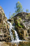 Belovsky waterfall is a natural attraction Stock Photography