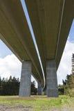 Below the Bridge Stock Photo