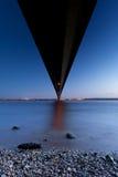 Below the bridge Royalty Free Stock Images