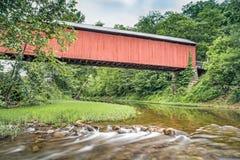 Below Hune Covered Bridge stock images