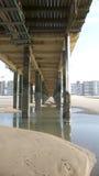 Below pier Stock Images