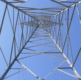 Below a pylon Stock Photography
