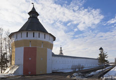 Belozerskaya Tower Spaso Prilutsky Monastery Stock Photography