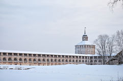 belozersky μοναστήρι Ρωσία kirillo Στοκ φωτογραφία με δικαίωμα ελεύθερης χρήσης