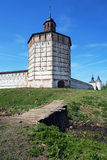 belozersky πύργος μοναστηριών kirillo Στοκ εικόνες με δικαίωμα ελεύθερης χρήσης