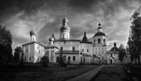 belozersky kirillokloster Fotografering för Bildbyråer