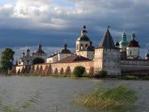 belozersky kirilo修道院 免版税图库摄影