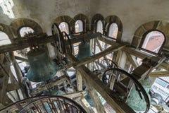 Bels da catedral do ` s do St Anastasia foto de stock
