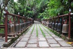 Bels em templos Fotos de Stock Royalty Free