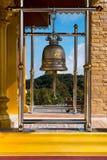 Bels em templos Imagens de Stock Royalty Free