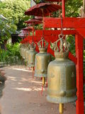 Bels em Wat Phantao Fotos de Stock Royalty Free