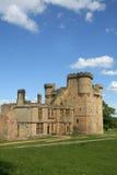 belsay城堡 库存图片