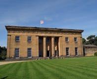 Belsay Hall, Northumberland Lizenzfreie Stockfotos