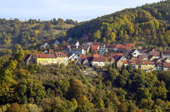 Belsenberg in Hohenlohe Royalty Free Stock Images