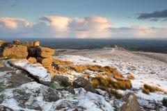 Belstone Dartmoor Стоковые Изображения