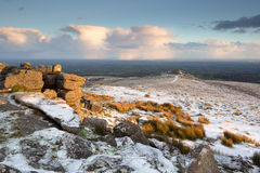 Belstone Dartmoor Stock Images