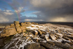 Belstone snow Royalty Free Stock Photos