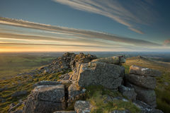 Belstone Tor Dartmoor Devon UK Fotografia Royalty Free