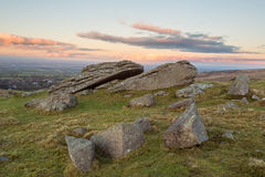 Belstone Tor Stock Photo