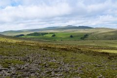 Belstonepiek op Dartmoor royalty-vrije stock afbeeldingen